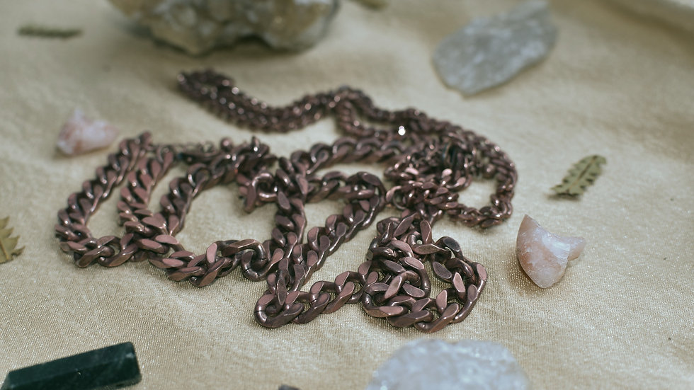 DooDoo Chain Copper Necklace