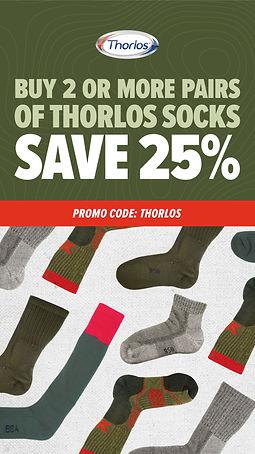Thorlos Promotion - Social Media Graphic