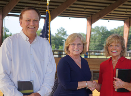 Town of South Congaree swears in new leaders Tuesday night