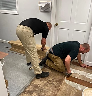 South Congaree police officers rally to improve their police station