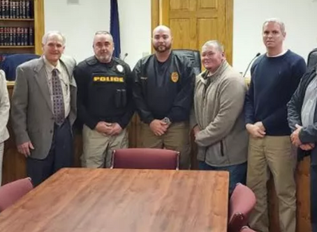 South Congaree Police Department swears in new legacy reserve police officer