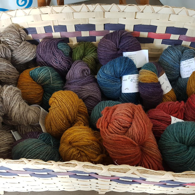 Mill-spun yarns