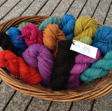 Hand-spun yarns