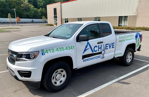 Achieve Rennovations Truck