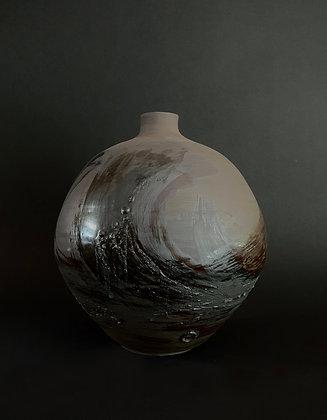 Big moon jar
