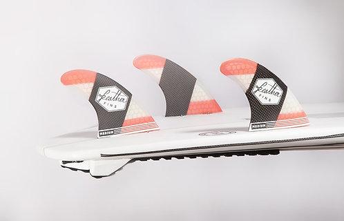 Carbon Flex Dual Tab Red