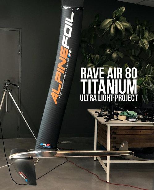 Alpinefoil Rave Air 80-Titanium