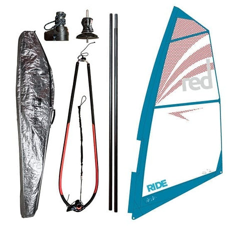 Red Windsurf Riggs