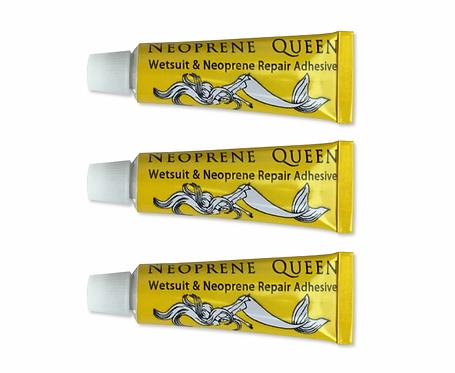 Neoprene QueenWetsuit Adhesive 3x5g