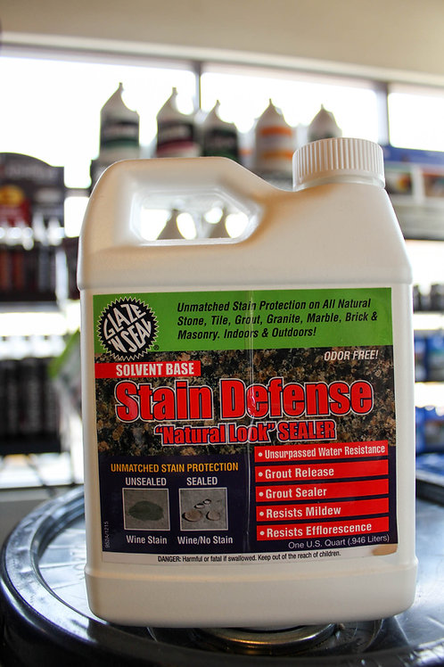 Glaze 'N Seal Stain Defense