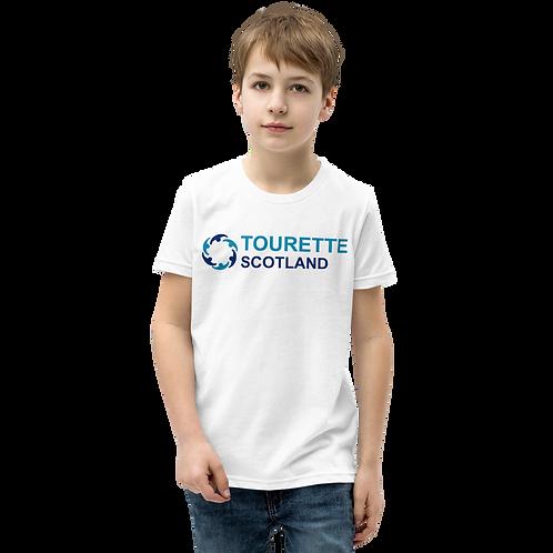 YOUTH Tourette Scotland T-Shirt (White)