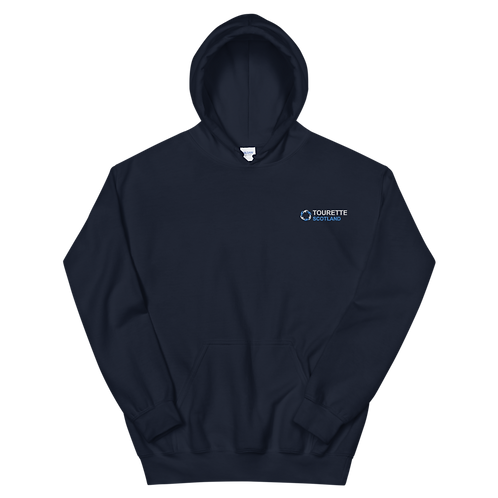 Tourette Scotland Embroidered Hoodie (Navy)