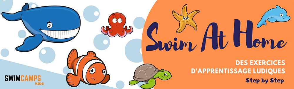 Swim at home avec swimcampskids