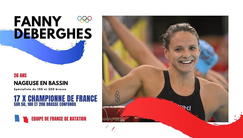 17 fois championne de France sur 50, 100 et 200 brasse répond à notre Q and A de natation