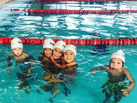 L'enfant, le sport, la natation !