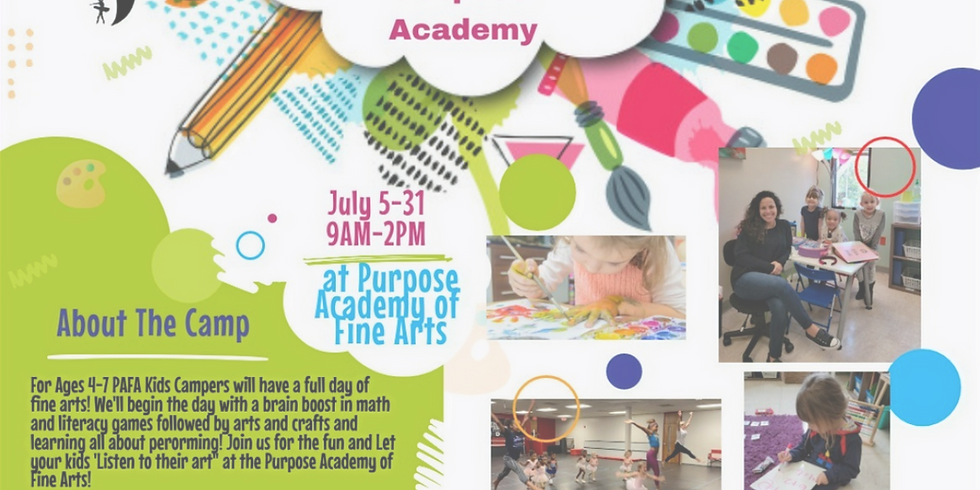 Summer Camp At KEDA ( For the Little Artists)