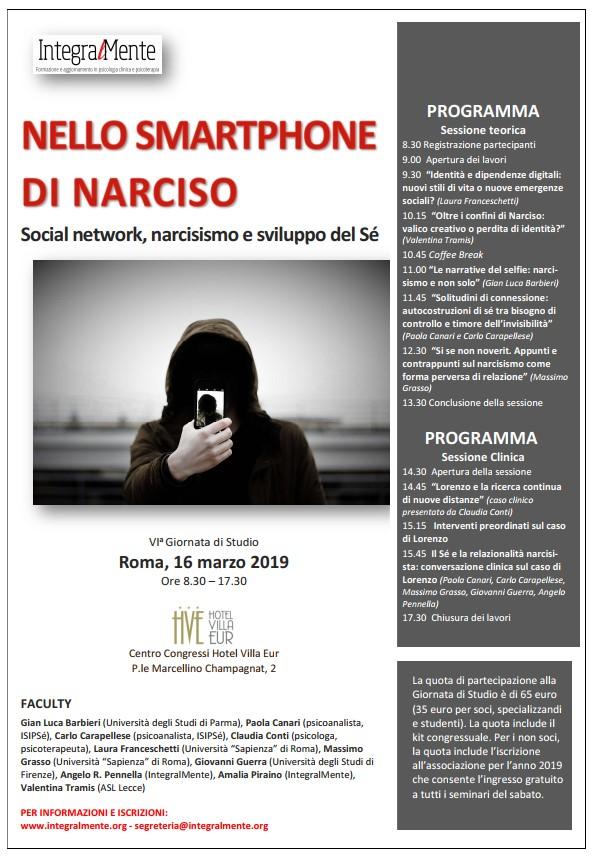 Nello smartphone di Narciso