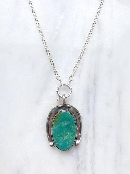 Royston Turquoise Horseshoe necklace