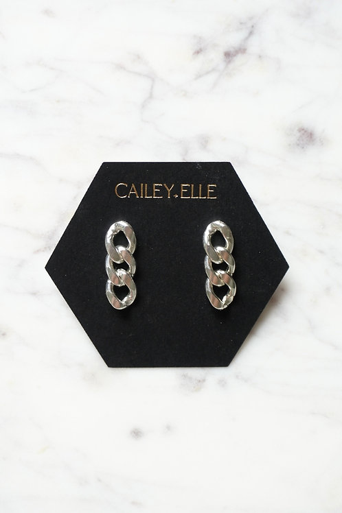 Miami Link Earrings - Short