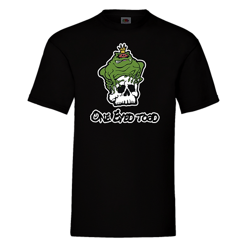 One Eyed Toad Short Sleeve T-Shirt