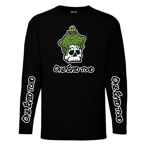 One Eyed Toad Long Sleeve T-Shirt