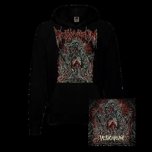Vesicarum - Place Of Anarchy Signed Digipak CD + Black Hoodie Bundle