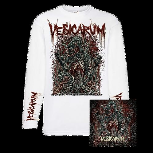 Vesicarum - Place Of Anarchy Signed Digipak CD + White Longsleeve Tee Bundle