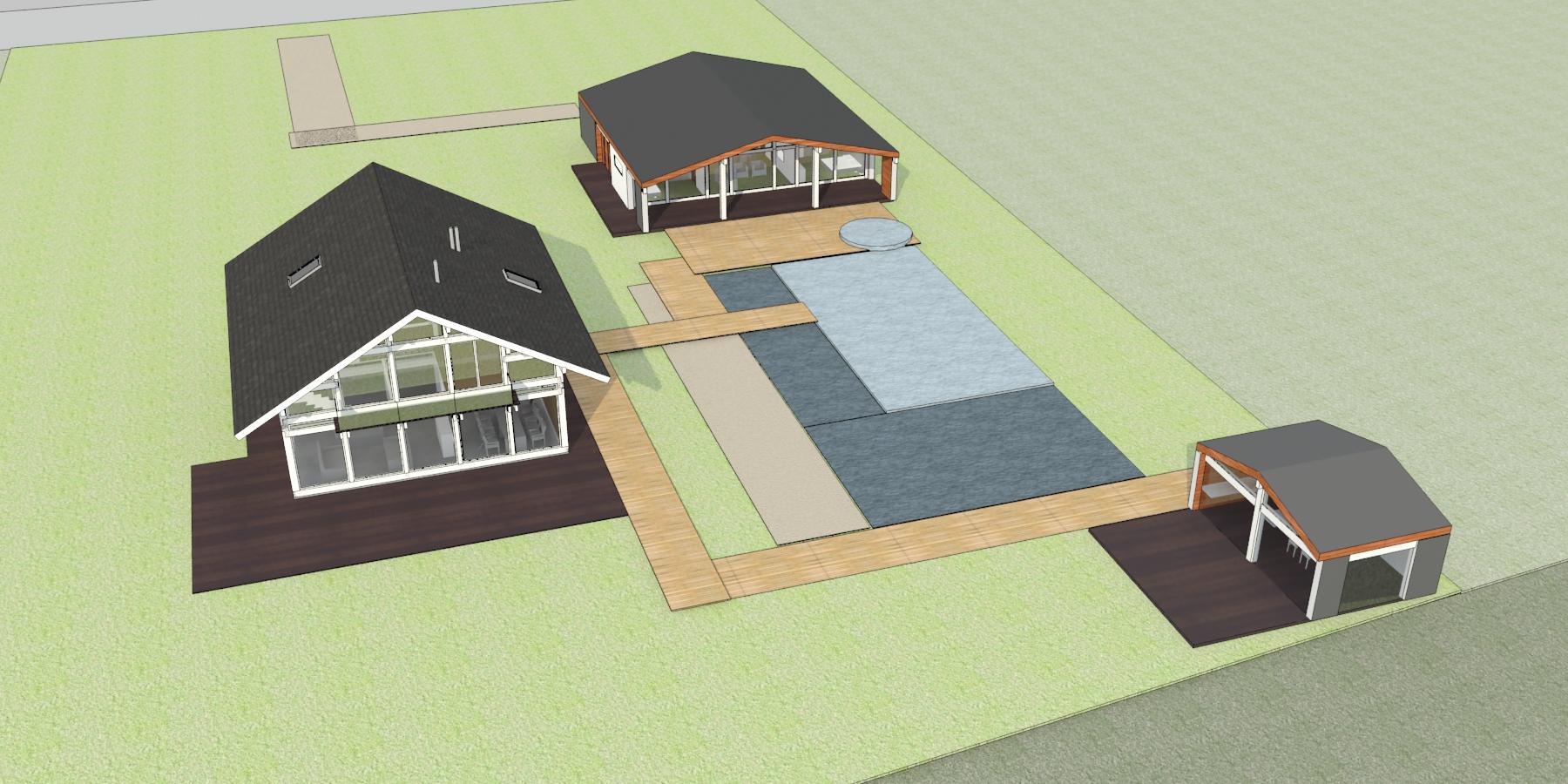 Проектирование гостевого дома