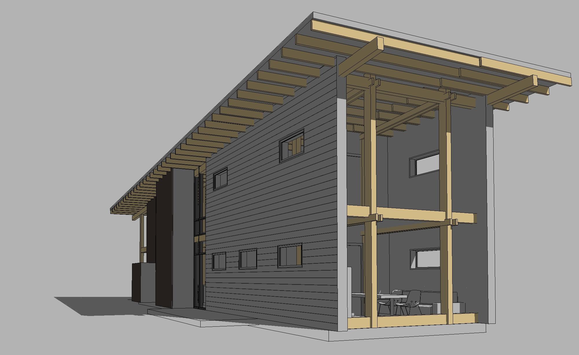 Типовые проекты каркасных домов