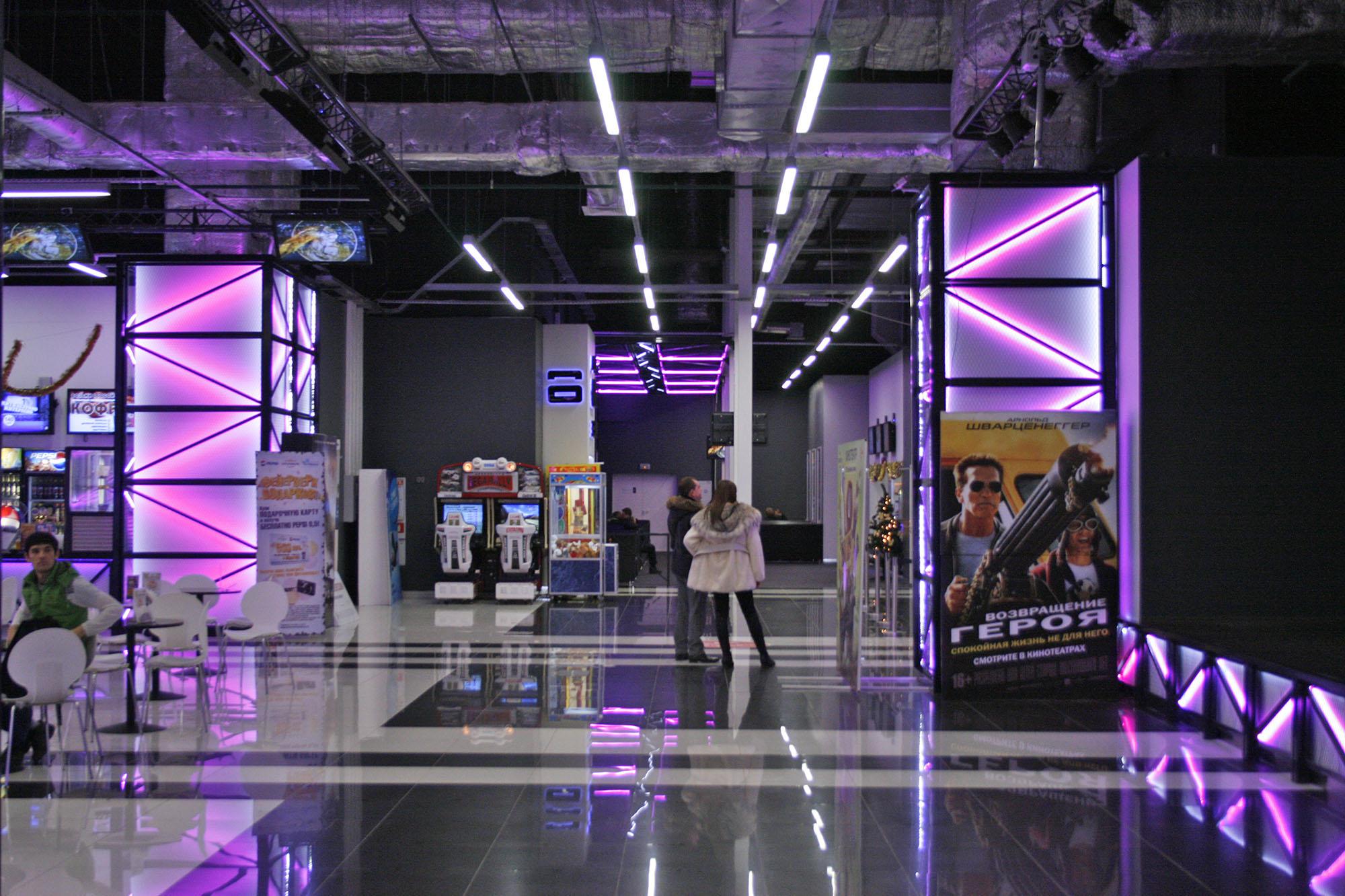Дизайн кинотеатра 1