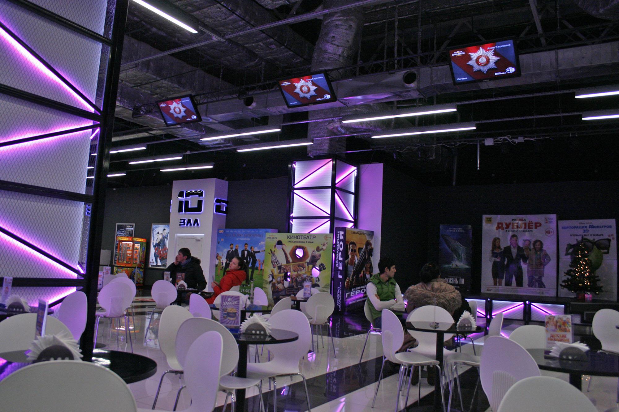 Дизайн кинотеатра 2