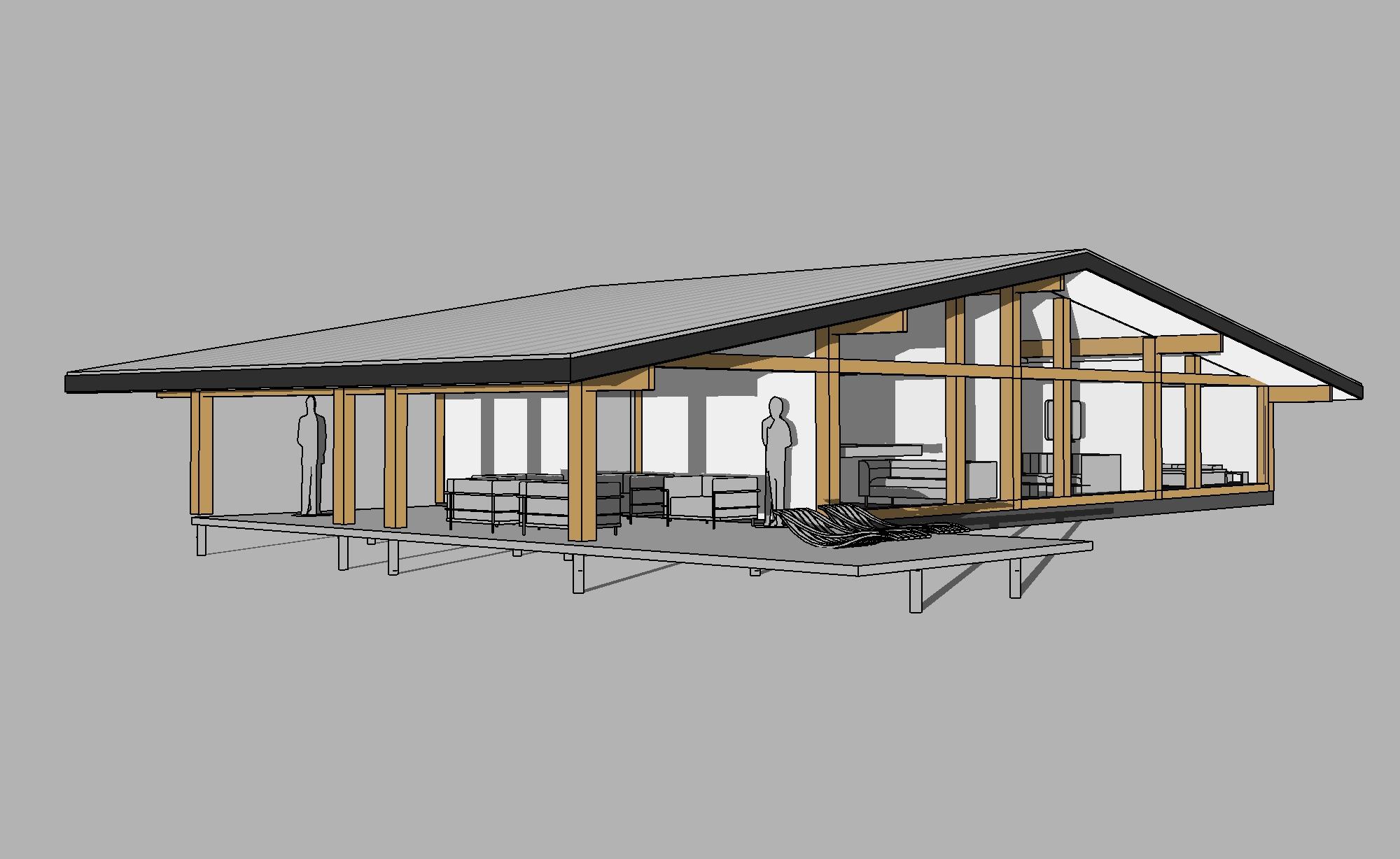 готовые проекты одноэтажных коттеджей