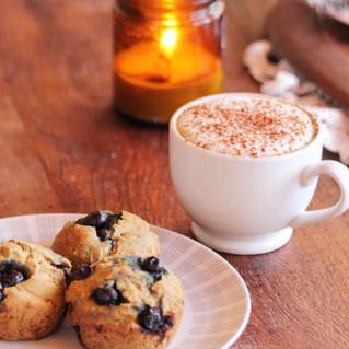 V/GF Blueberry Muffins