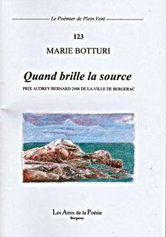 Quand brille la source de Marie Botturi