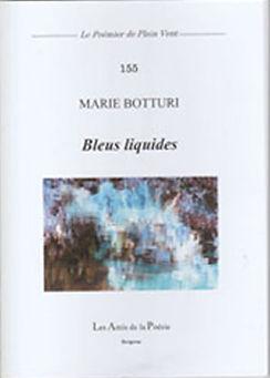 Bleus liquides de Marie Botturi