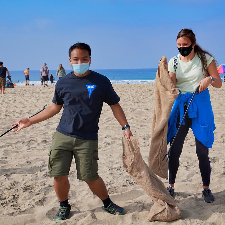 Zer0 Debris August 8 Beach Cleanup