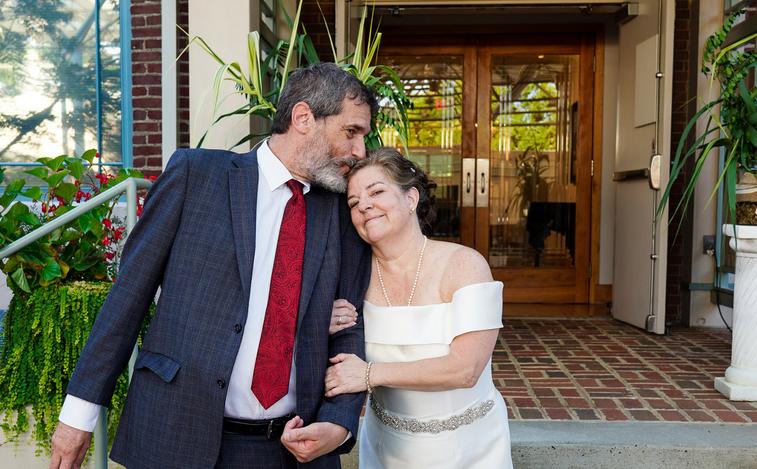 Laurie Buchwald and Greg Kallen