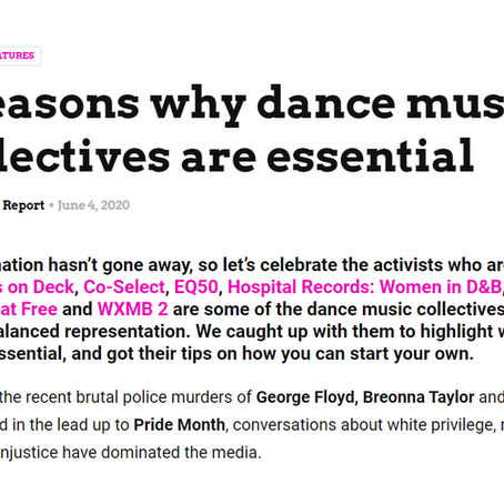RAVE REPORT ON DANCE MUSIC COLLECTIVES