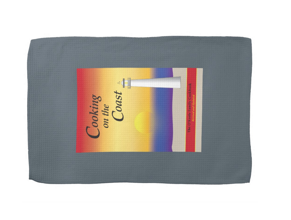 Cooking on the Coast Hand Towel
