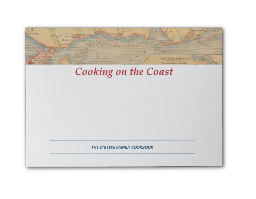 Coast Map Post-Its