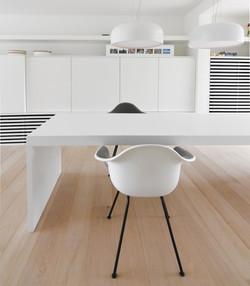 tafel interieur keuken wingene