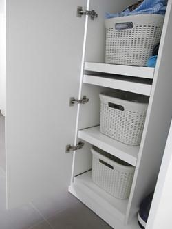 totaalinrichting wasplaats interieur