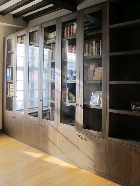 massief bibliotheek maatwerk