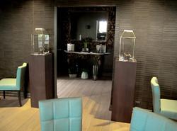 Zaal in restaurant maatwerkmeubilair