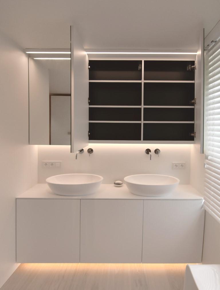kasten op maat interieur badkamer
