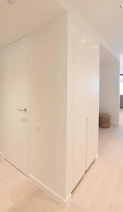 meubels op maat modelappartement