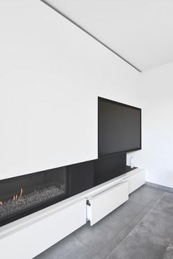 haardwand interieur maatwerk meubel