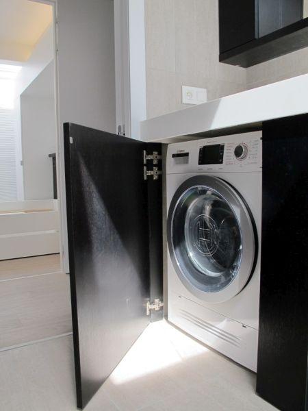 maatkast voor wasmachine