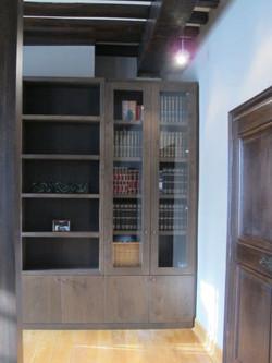 massief bibliotheek interieur maat