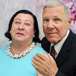 Pam and David